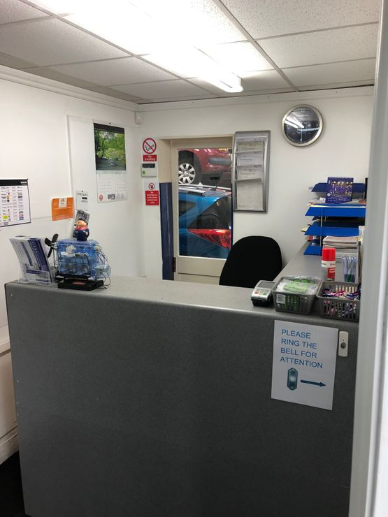 Central Auto Repair Services - Reception